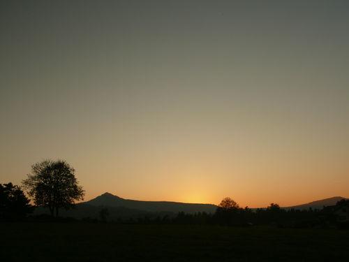 2008 10 10 Le coucher du soleil sur le Lizieux