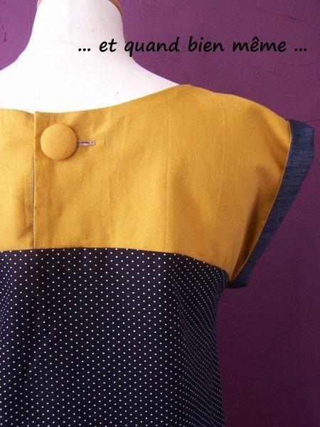 Dos blouse GUISANTE YELLOW