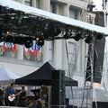 Concert d'olivia ruiz sur le parvis de l'hotel de ville