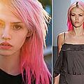 Ils en pensent quoi de…Mon blush bien <b>rose</b> sur les <b>cheveux</b> !