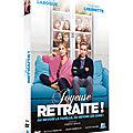 <b>Concours</b> JOYEUSE RETRAITE : 3 <b>DVD</b> d'une comédie idéale pour l'été à gagner !