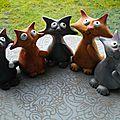 Cinq p'ti chats...