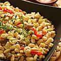 Salade iberique ou la cuisine du congélateur