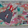 "Mail art "" saint valentin"""