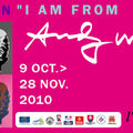 Exposition andy warhol « i am from nowhere »