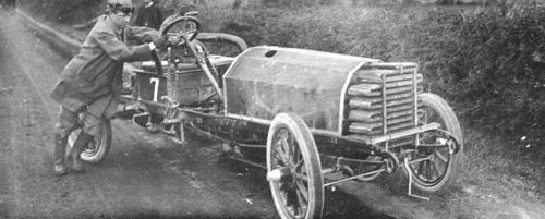 1903 gordon bennett trophy, athy, northern ireland - louis mooers (peerless 17-litre) dnf 1 tires 3