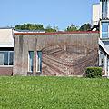 Besançon <b>Doubs</b> La Bouloie Franco Fasoli fresque