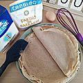Recette de la pâte à galettes <b>Bretonnes</b> (au blé noir)