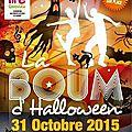 BOUM d'HALLOWEEN, 31 octobre 2015, CAUDROT