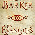 Barker,Clive - Les évangiles <b>écarlates</b>