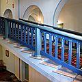 Imatra, escalier du Grand Hôtel