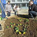 Le printemps arrive : atelier <b>espaces</b> <b>verts</b> pour les 4èmes