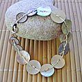 Bracelet boutons et bracelets shamballa