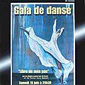 Gala 2010 Patty Jazz Dance Peinture Patricia Libre de mes pas