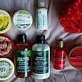Commande The Body Shop d'automne.