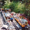 La gare de Villefort (1991). les quais en ardoises ont été remplacés avantageusement par des quais avec auvent POLA