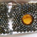 Bracelet strassé multicolore