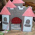 tapis de jeu chateau en feutrine fait main foldingo, handmade fold and go felt castlel play mat (9)
