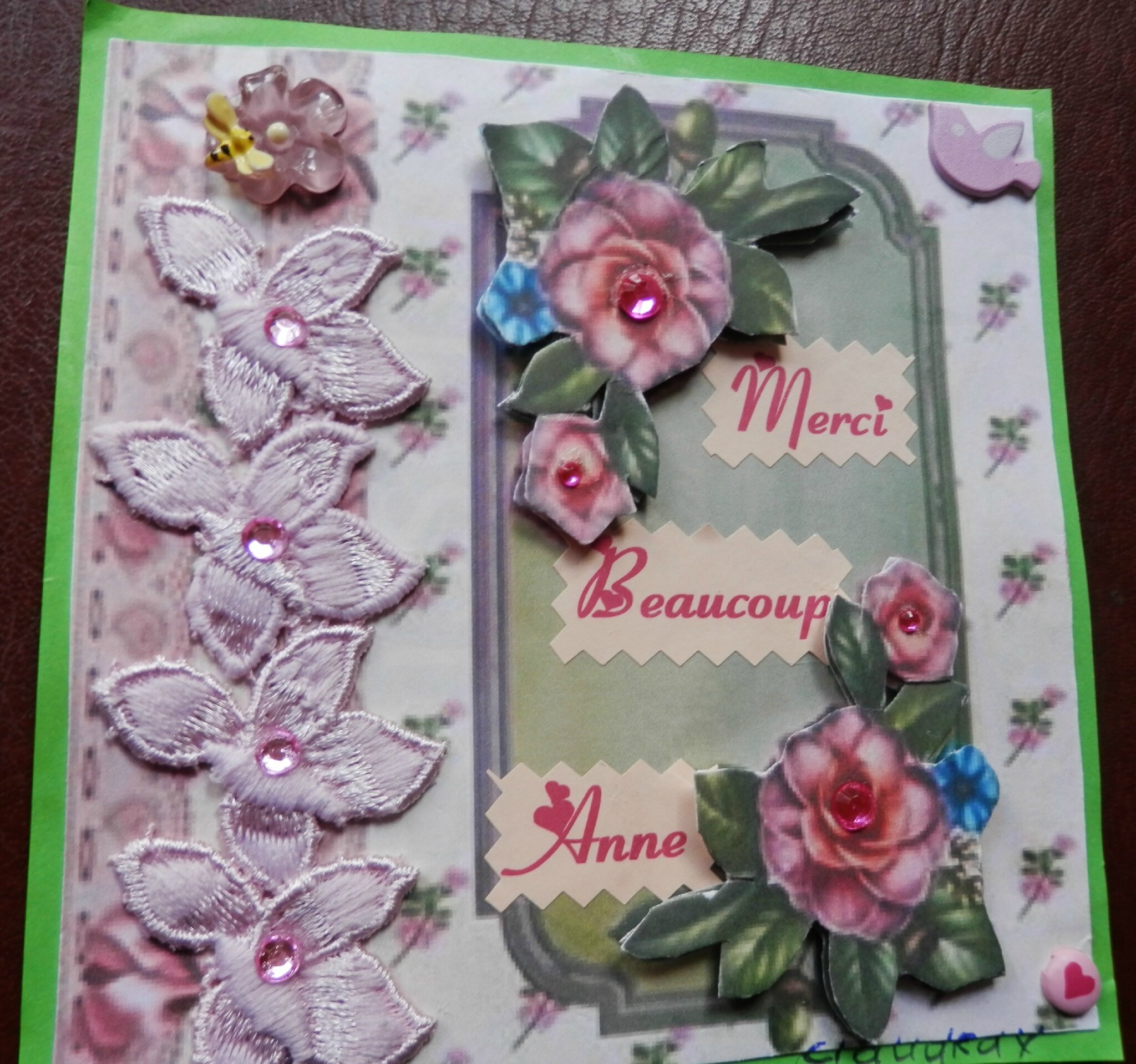 Pour ANNE 5 ans Blog 2015
