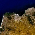 Photo satellite de Tanger