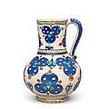 An Iznik Cintamani pottery <b>Jug</b>, Turkey, circa 1570