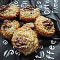 Cookies aux flocons d'avoine, bananes et noix