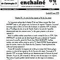 Cahiers de devoirs : chapitre 33 : un crime de lèse-majesté au roi du jura enfin réparé