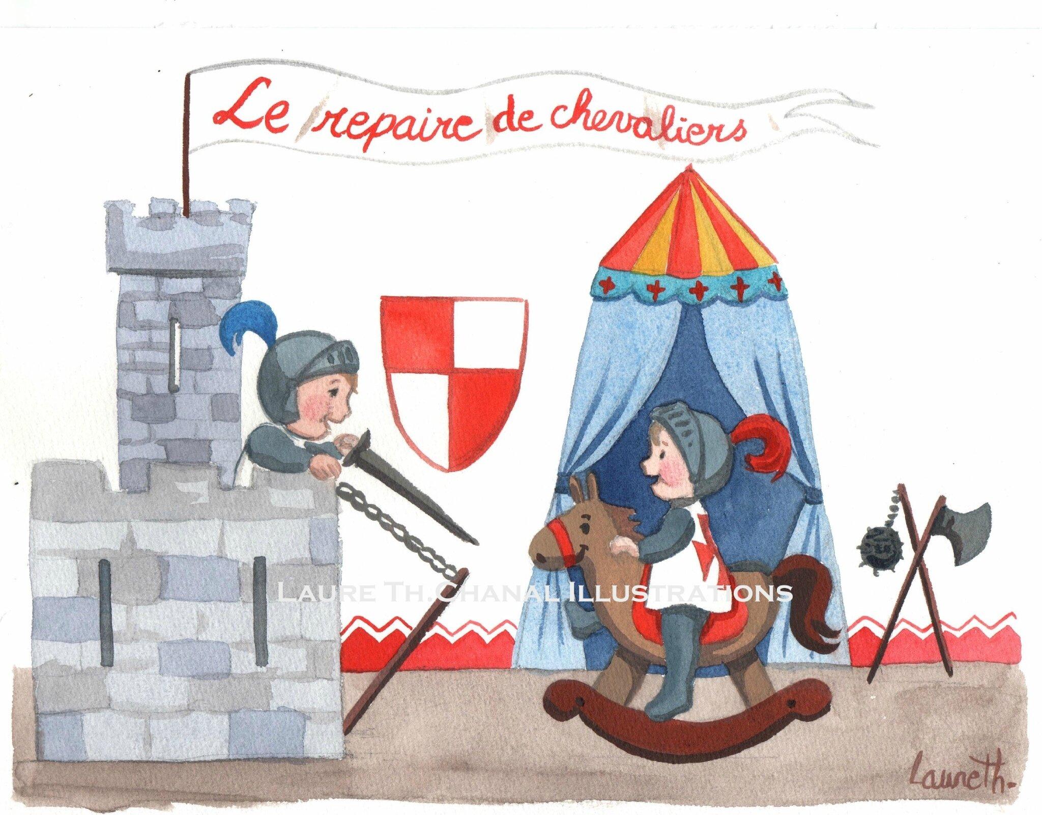 repaire des chevaliers