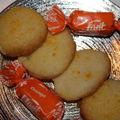 Biscuits sablés à l'orange
