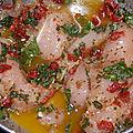 Bagels poulet / basilic & tomate séchée