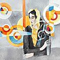 Quand Sonia Delaunay rencontre Modigliani...