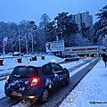 Lyon paralysé par la neige