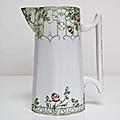 Vaisselle <b>Ancienne</b> ... PICHET Véranda * Sarreguemines & Digoin