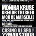 El 22/03/08 Nuits Electroniques Casino de Spa
