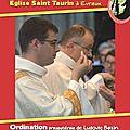Ordination presbytérale de ludovic bazin