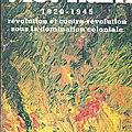 Viêt-nam 1920-1945 Révolution et contre révolution sous la domination coloniale