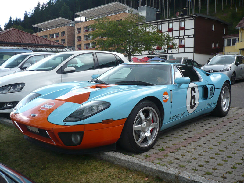 FORD GT Gulf Heritage Edition 580 HP Titisee-Neustadt (1)