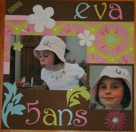 Eva 5 ans