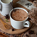 Chocolat chaud aux épices & reishi #vegan #glutenfree