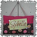coussin de porte Sybelle