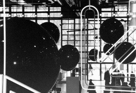 Centre Pompidou - décembre 2004