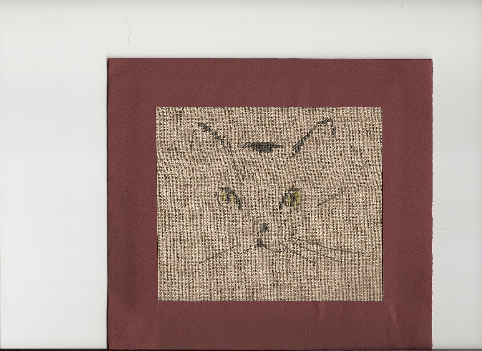 broderie carte chat pour christel 08
