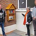 Le petit maroc inaugure sa « boîte à livres »