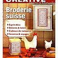 Broderie créative spécial broderie suisse