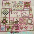 Take time to quilt-spring