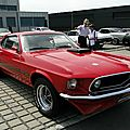 Ford mustang mach1 fastback coupe, 1969