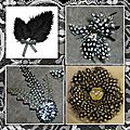 Broches en plumes