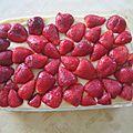 Délice aux fraises express