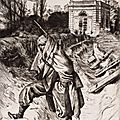 Tissot (James) La Grand Garde (1878), Souvenir du siège de Paris