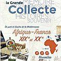Grande collecte afrique-france